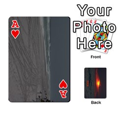 Ace 2009 Destin By Laura Rejko   Playing Cards 54 Designs   7n24bbbllby9   Www Artscow Com Front - HeartA