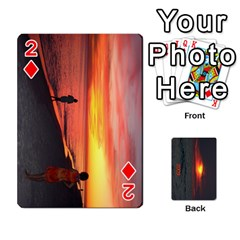 2009 Destin By Laura Rejko   Playing Cards 54 Designs   7n24bbbllby9   Www Artscow Com Front - Diamond2