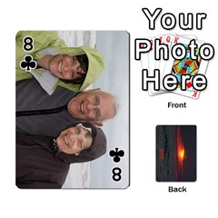 2009 Destin By Laura Rejko   Playing Cards 54 Designs   7n24bbbllby9   Www Artscow Com Front - Club8