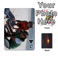 Jack 2009 Destin By Laura Rejko   Playing Cards 54 Designs   7n24bbbllby9   Www Artscow Com Front - ClubJ