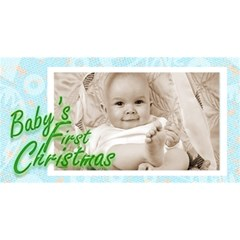 Baby s First Christmas Boy Photocube By Catvinnat   Magic Photo Cube   5m4ddmnczn73   Www Artscow Com Long Side 2