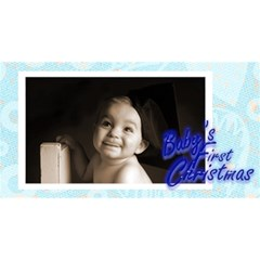 Baby s First Christmas Boy Photocube By Catvinnat   Magic Photo Cube   5m4ddmnczn73   Www Artscow Com Long Side 3