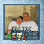 Happy Holidays Christmas photocube - Magic Photo Cube