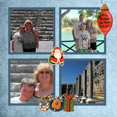 Happy Holidays Christmas Photocube By Catvinnat   Magic Photo Cube   O7u9lgcqw7a0   Www Artscow Com Side 3
