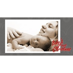 Baby s First Christmas Monochrome Photocube By Catvinnat   Magic Photo Cube   Zkbzu08bwlmq   Www Artscow Com Long Side 1