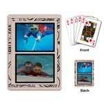 Fantasia Classic TwinPic Playing Cards - Playing Cards Single Design