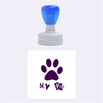 my pet - Rubber Stamp Round (Medium)