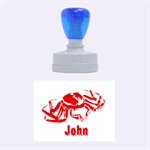 seafood - Rubber Stamp Oval