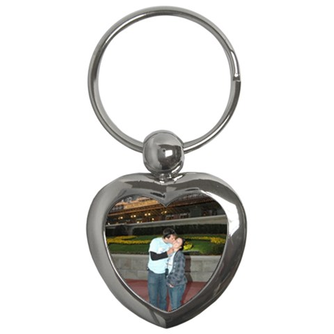 Key By Michelle Loomis   Key Chain (heart)   Twg1pd4ivq9f   Www Artscow Com Front
