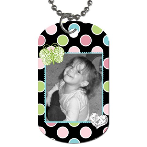 Dog Tag 3 By Martha Meier   Dog Tag (one Side)   Qm7uadts96k5   Www Artscow Com Front
