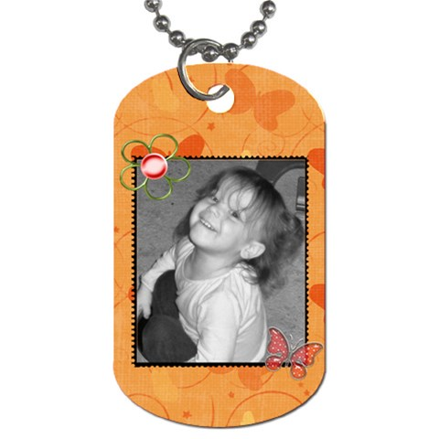 Dog Tag 4 By Martha Meier   Dog Tag (one Side)   9k326ol09hw9   Www Artscow Com Front
