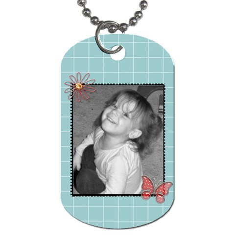 Dog Tag 5 By Martha Meier   Dog Tag (one Side)   Riaa50v5ihf2   Www Artscow Com Front