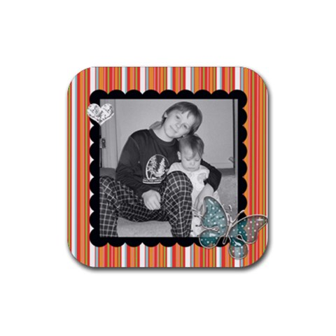 Square Coaster 1 By Martha Meier   Rubber Coaster (square)   Yuw3019igxyq   Www Artscow Com Front