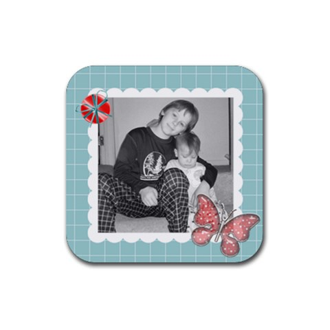 Square Coaster 3 By Martha Meier   Rubber Coaster (square)   Izjm5mzou7md   Www Artscow Com Front