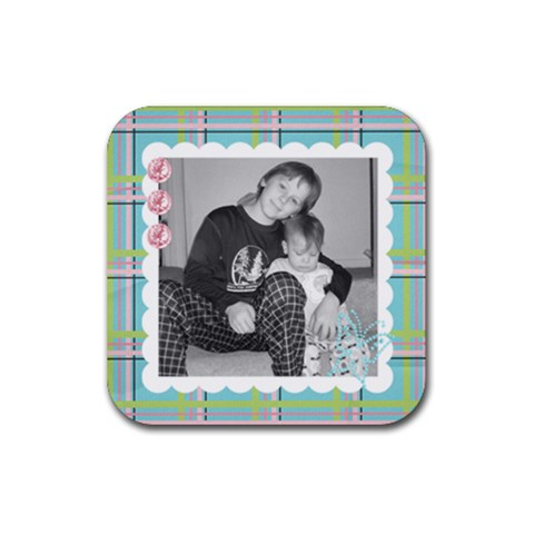 Square Coaster 6 By Martha Meier   Rubber Coaster (square)   P25wqlwmqe3j   Www Artscow Com Front
