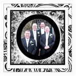 Fantasia Perfect Day Monochrome Wedding12 x 12 canvas 2 - Canvas 12  x 12