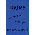 Dairy - 5.5  x 8.5  Notebook