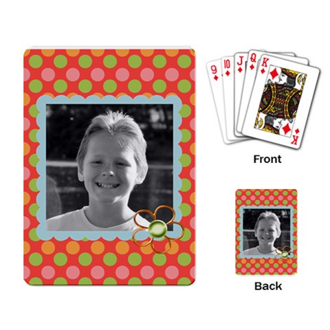 Playing Cards 4 By Martha Meier   Playing Cards Single Design   0chi36l08yeh   Www Artscow Com Back