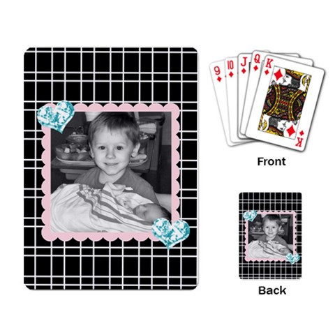 Playing Cards 8 By Martha Meier   Playing Cards Single Design   8kultwrrgpad   Www Artscow Com Back