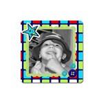 square magnet 9 - Magnet (Square)