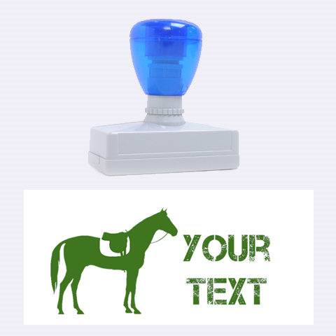 Horse By Design001   Rubber Stamp (large)   S6ghpsgyamti   Www Artscow Com 2.26 x1.05  Stamp