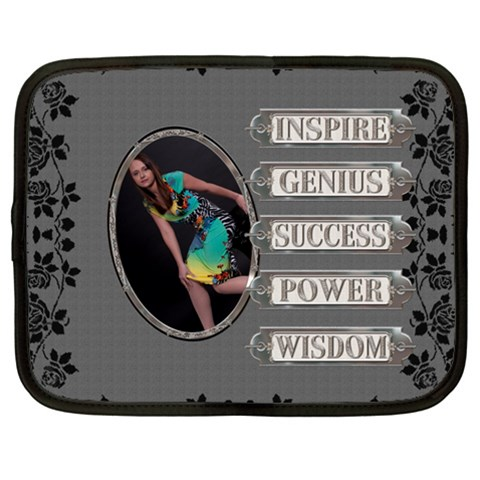 Encouragement Xxl Netbook Case By Lil    Netbook Case (xxl)   U2f5evxho12b   Www Artscow Com Front