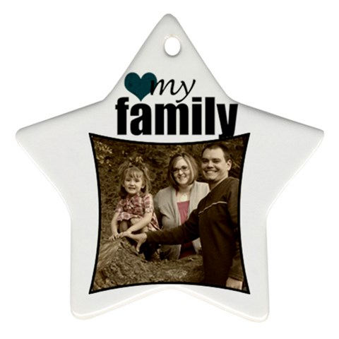 Star Ornament 2 By Amanda Bunn   Ornament (star)   8g7epolrvts2   Www Artscow Com Front