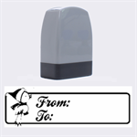 From-To 1  -  Rubber stamp - Name Stamp