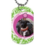 Bubblegum dog tag - Dog Tag (One Side)
