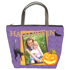 Halloween By Joely   Bucket Bag   3h3e9mbdot64   Www Artscow Com Front
