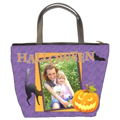 Halloween By Joely   Bucket Bag   3h3e9mbdot64   Www Artscow Com Back