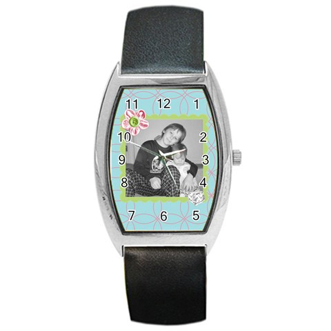 Pretty Watch 4 By Martha Meier   Barrel Style Metal Watch   Lk65g0tdpt93   Www Artscow Com Front