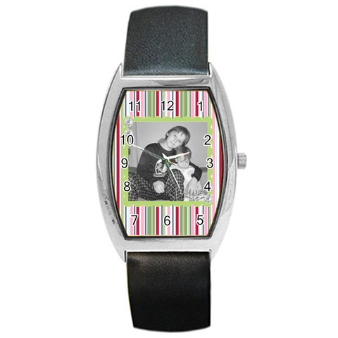 Pretty Watch 5 By Martha Meier   Barrel Style Metal Watch   G8p6lv4awlzy   Www Artscow Com Front