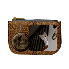 Cat Mini Coin Purse By Lil    Mini Coin Purse   Mb6596vcz54d   Www Artscow Com Front