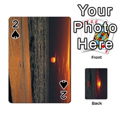 2009 Destin Final By Laura Rejko   Playing Cards 54 Designs (rectangle)   Ek14aawfjjrr   Www Artscow Com Front - Spade2