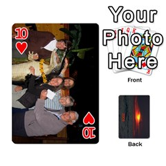 2009 Destin Final By Laura Rejko   Playing Cards 54 Designs (rectangle)   Ek14aawfjjrr   Www Artscow Com Front - Heart10