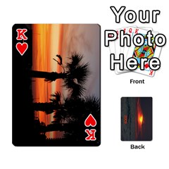 King 2009 Destin Final By Laura Rejko   Playing Cards 54 Designs (rectangle)   Ek14aawfjjrr   Www Artscow Com Front - HeartK