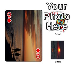 Queen 2009 Destin Final By Laura Rejko   Playing Cards 54 Designs (rectangle)   Ek14aawfjjrr   Www Artscow Com Front - DiamondQ