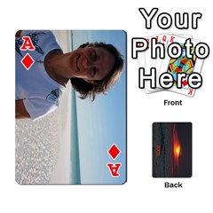 Ace 2009 Destin Final By Laura Rejko   Playing Cards 54 Designs (rectangle)   Ek14aawfjjrr   Www Artscow Com Front - DiamondA