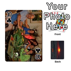 2009 Destin Final By Laura Rejko   Playing Cards 54 Designs (rectangle)   Ek14aawfjjrr   Www Artscow Com Front - Club10