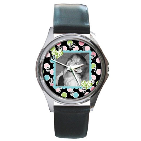 Round Watch 3 By Martha Meier   Round Metal Watch   87q56eyj2om3   Www Artscow Com Front