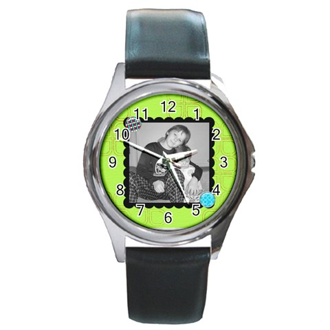Round Watch 10 By Martha Meier   Round Metal Watch   6upx0j4ellns   Www Artscow Com Front