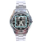 Men s watch 1 - Stainless Steel Analogue Men's Watch