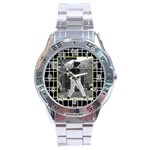 Men s watch 2 - Stainless Steel Analogue Watch