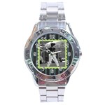 Men s watch 3 - Stainless Steel Analogue Men's Watch