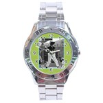 Men s watch 4 - Stainless Steel Analogue Watch