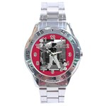Men s watch 7 - Stainless Steel Analogue Watch