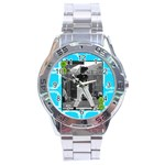 Men s watch 8 - Stainless Steel Analogue Men's Watch