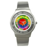 Splash Watch - Stainless Steel Watch
