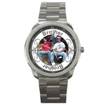 Brother Sport Metal Watch